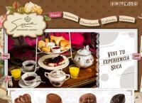 Sitio web de Suca Chocolate Pasion