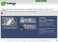 Sitio web de Favicur - Icsa