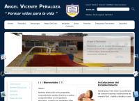 Sitio web de Escuela - Angel Vicente Peñaloza