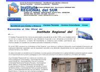 Sitio web de Instituto Regional Del Sur