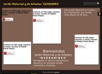 Sitio web de Jardin  Querubines  Maternal y de Infantes