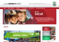 Sitio web de Jardin de Infantes Modelo Lomas