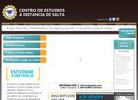 Sitio web de Centro de Estudio a Distancia de Salta - C.e.d.sa.