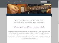 Sitio web de Clases de Guitarra en Quilmes - Santiago Moglia