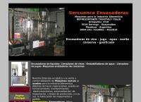 Sitio web de Sercuenca Envasadoras
