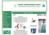 Sitio web de Centro Odontologico Gallo