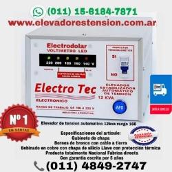 Elevadores de Voltaje -  Estabilizadores de Tensión ®