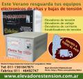 Elevadores de Tension en Pampa