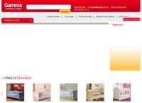 Sitio web de Gamma Muebles. Hogar