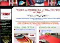 Sitio web de Textil Wilde Manteleria