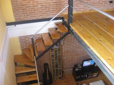 Techos pisos decks escaleras entrepisos etc como hacer for Como hacer una escalera para entrepiso