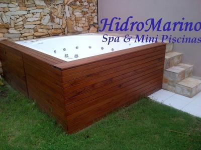Hidromarino hidromasajes mini piscinas santo tom for Minipiscinas spa