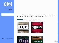 Sitio web de carteles enlozados .com.ar