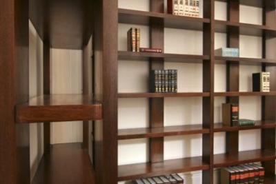 Tanta muebles productos bibliotecas y estantes de - Bibliotecas de madera ...