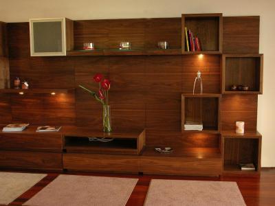 Tanta muebles productos muebles para tv lcd de madera for Muebles de madera para tv