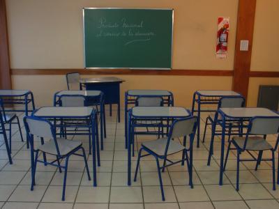 Oscar britos s r l productos muebles escolares for Muebles para aulas